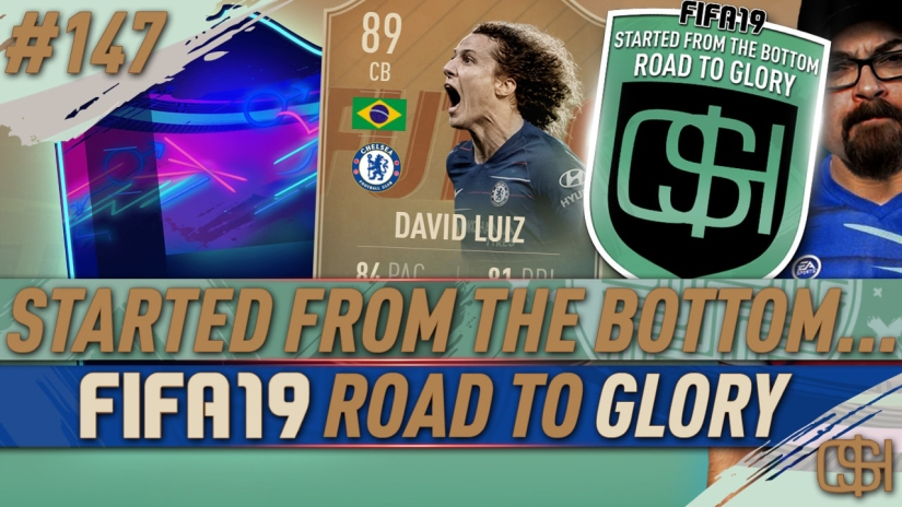 FIFA 19 ROAD TO GLORY FIFA 19 ULTIMATE TEAM QUICKSTOPHICKS FIFA 19 RTG EPISODE 147 FIFA REDDIT FLASHBACK DAVID LUIZ SBC CHEAP OTW SBC CHEAP