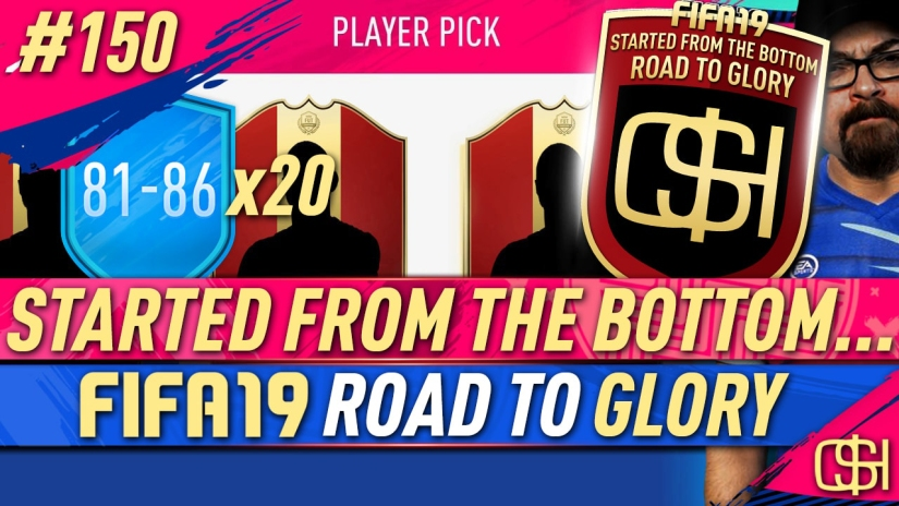FIFA 19 ROAD TO GLORY FIFA 19 ULTIMATE TEAM QUICKSTOPHICKS FIFA 19 RTG EPISODE 150 FIFA REDDIT 81-86 UPGRADE PACKS