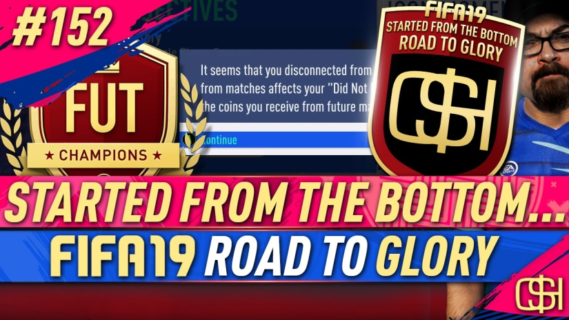 FIFA 19 ROAD TO GLORY FIFA 19 ULTIMATE TEAM QUICKSTOPHICKS FIFA 19 RTG EPISODE 152 FIFA REDDIT GAME DISCONNECTS SERVER ISSUES