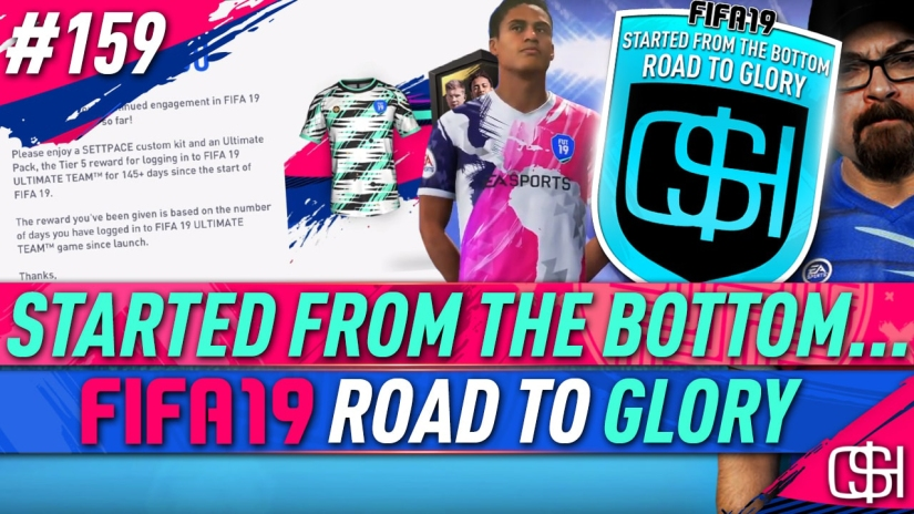 FIFA 19 ROAD TO GLORY FIFA 19 ULTIMATE TEAM QUICKSTOPHICKS FIFA 19 RTG EPISODE 159 FREE PACKS FREE ULTIMATE TEAM PACKS