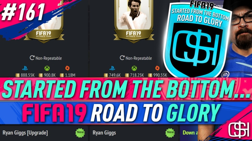 FIFA 19 ROAD TO GLORY FIFA 19 ULTIMATE TEAM QUICKSTOPHICKS FIFA 19 RTG EPISODE 161 RYAN GIGGS UPGRADE PRIME MOMENTS ICON