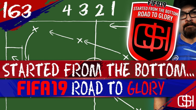 FIFA 19 ROAD TO GLORY FIFA 19 ULTIMATE TEAM QUICKSTOPHICKS FIFA 19 RTG EPISODE 163 4 3 2 1 CUSTOM TACTICS AND GAMEPLANS