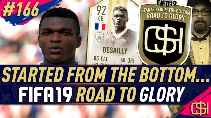 FIFA 19 ROAD TO GLORY FIFA 19 ULTIMATE TEAM QUICKSTOPHICKS FIFA 19 RTG EPISODE 166 PRIME MOMENTS ICON DESAILLY SBC CHEAP