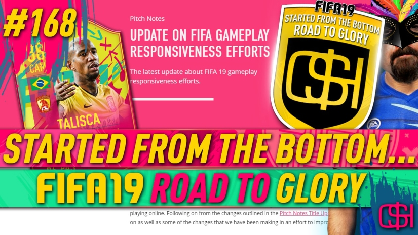 FIFA 19 ROAD TO GLORY FIFA 19 ULTIMATE TEAM QUICKSTOPHICKS FIFA 19 RTG EPISODE 168 GAMEPLAY RESPONSIVENESS TALISCA FREE CARNIBALL CARD