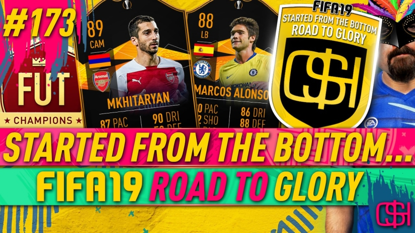 FIFA 19 ROAD TO GLORY FIFA 19 ULTIMATE TEAM QUICKSTOPHICKS FIFA 19 RTG EPISODE 173 EUROPA LEAGUE ARSENAL CHELSEA MKHITARYAN ALONSO
