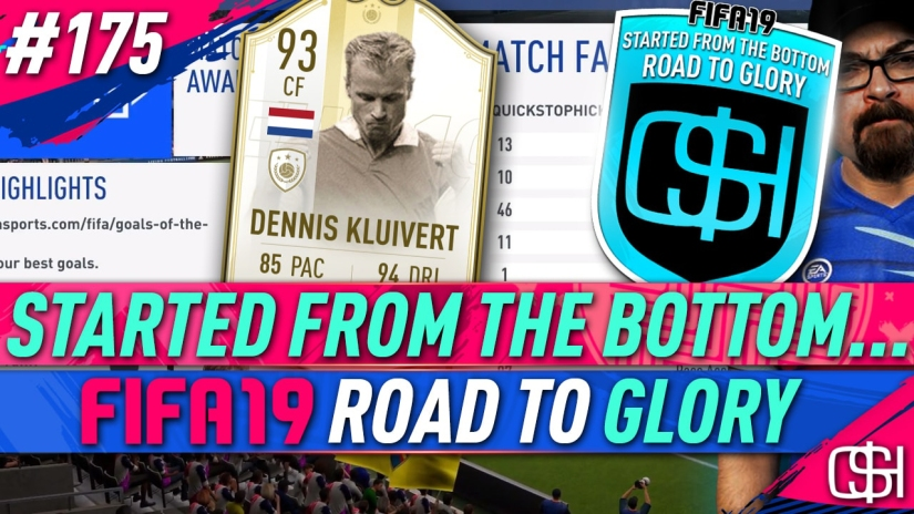 FIFA 19 ROAD TO GLORY FIFA 19 ULTIMATE TEAM QUICKSTOPHICKS FIFA 19 RTG EPISODE 175 PRIME MOMENTS ICON BERGKAMP