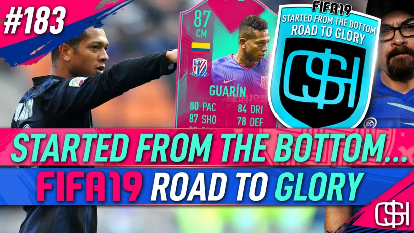 FIFA 19 ROAD TO GLORY FIFA 19 ULTIMATE TEAM QUICKSTOPHICKS FIFA 19 RTG EPISODE 183 FREDY GUARIN WEEKLY OBJECTIVE FUT BIRTHDAY