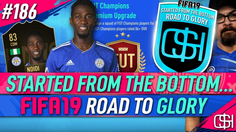 FIFA 19 ROAD TO GLORY FIFA 19 ULTIMATE TEAM QUICKSTOPHICKS FIFA 19 RTG EPISODE 186 NDID1 83 INFORM FUT CHAMPIONS PREMIUM UPGRADE