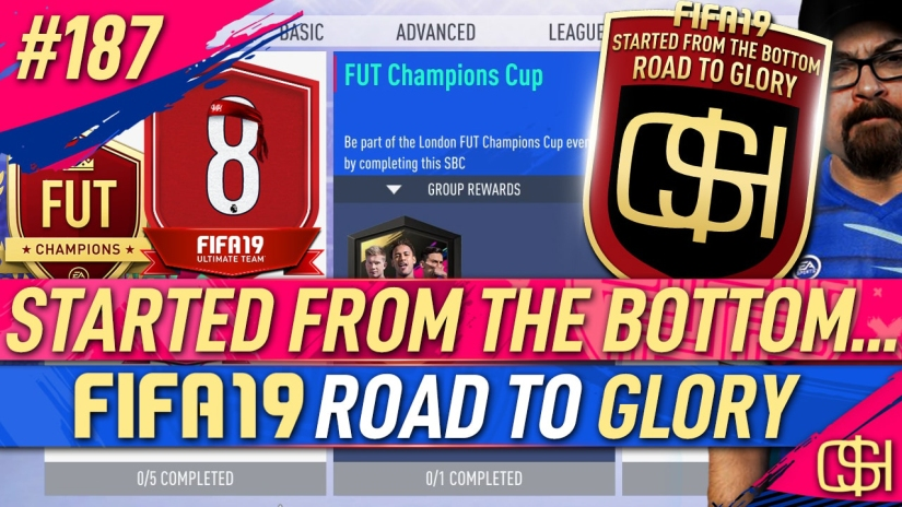 FIFA 19 ROAD TO GLORY FIFA 19 ULTIMATE TEAM QUICKSTOPHICKS FIFA 19 RTG EPISODE 187 FUT CHAMPIONS CUP