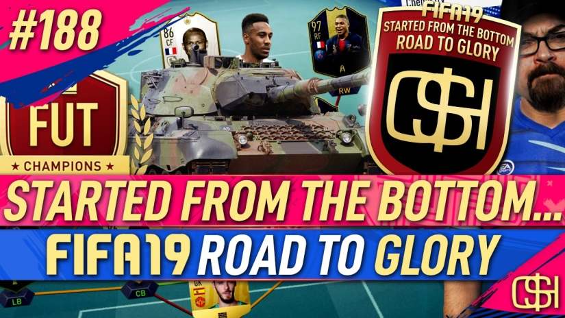 FIFA 19 ROAD TO GLORY FIFA 19 ULTIMATE TEAM QUICKSTOPHICKS FIFA 19 RTG EPISODE 188 FUT CHAMPIONS CUP