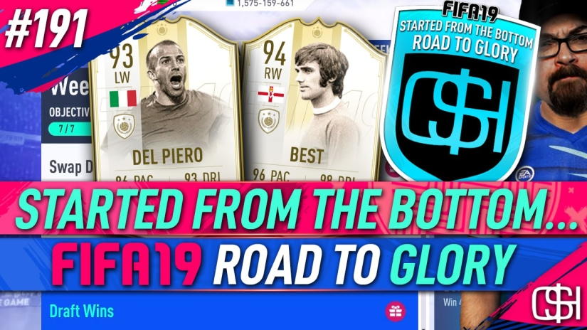 FIFA 19 ROAD TO GLORY FIFA 19 ULTIMATE TEAM QUICKSTOPHICKS FIFA 19 RTG EPISODE 191 WEEKLY OBJECTIVES FUT DRAFTS