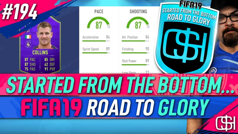 FIFA 19 ROAD TO GLORY FIFA 19 ULTIMATE TEAM QUICKSTOPHICKS FIFA 19 RTG EPISODE 194 FREE TEAM OF THE SEASON CARD