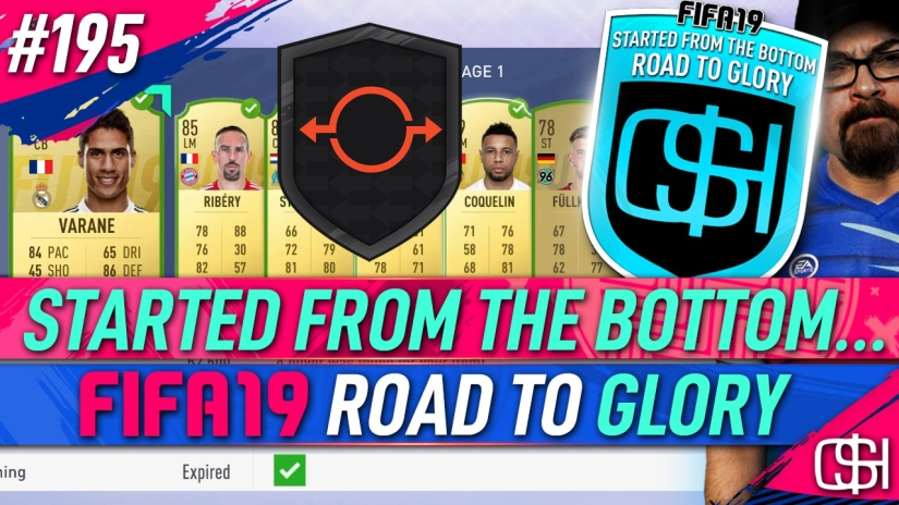 FIFA 19 ROAD TO GLORY FIFA 19 ULTIMATE TEAM QUICKSTOPHICKS FIFA 19 RTG EPISODE 195 FUT SWAP DEALS