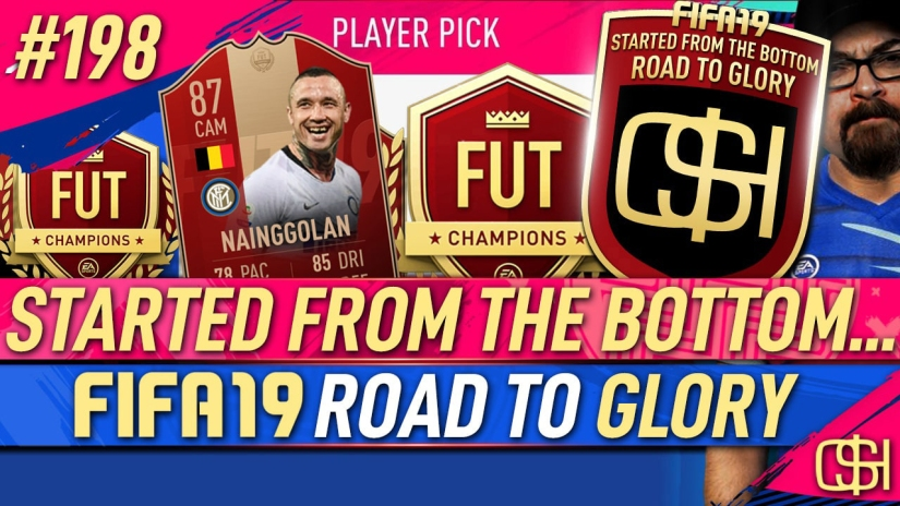 FIFA 19 ROAD TO GLORY FIFA 19 ULTIMATE TEAM QUICKSTOPHICKS FIFA 19 RTG EPISODE 198 FUT CHAMPIONS RED REWARDS 92 KEVIN DE BRUYNE 87 nainggolan