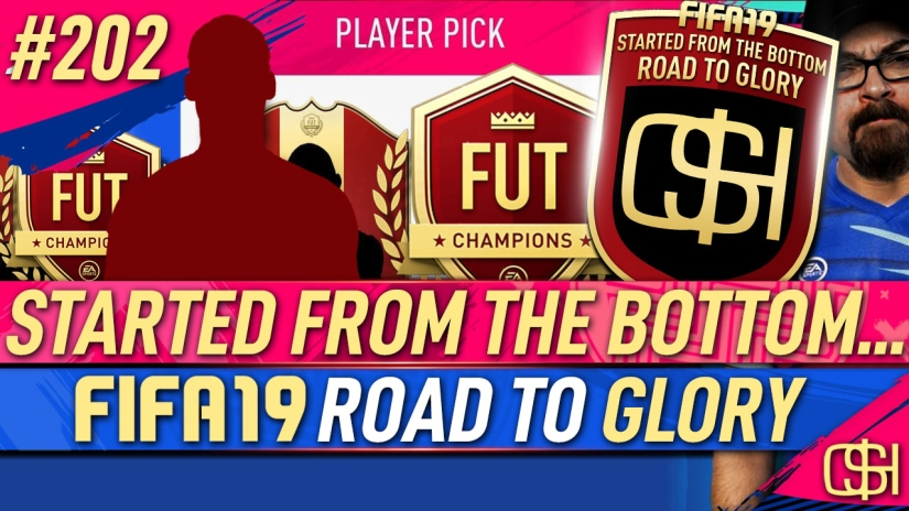 FIFA 19 ROAD TO GLORY FIFA 19 ULTIMATE TEAM QUICKSTOPHICKS FIFA 19 RTG EPISODE 202 FUT CHAMPIONS RED REWARDS 91 mbappe