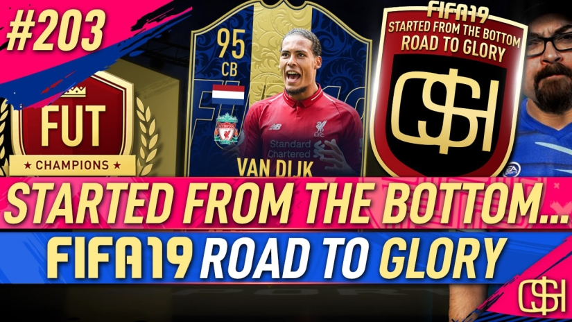 FIFA 19 ROAD TO GLORY FIFA 19 ULTIMATE TEAM QUICKSTOPHICKS FIFA 19 RTG EPISODE 203 FUT SWAP ICON TOTY VAN DIJK