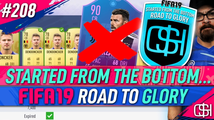 FIFA 19 ROAD TO GLORY FIFA 19 ULTIMATE TEAM QUICKSTOPHICKS FIFA 19 RTG EPISODE 208 END OF AN ERA BARZAGHLI