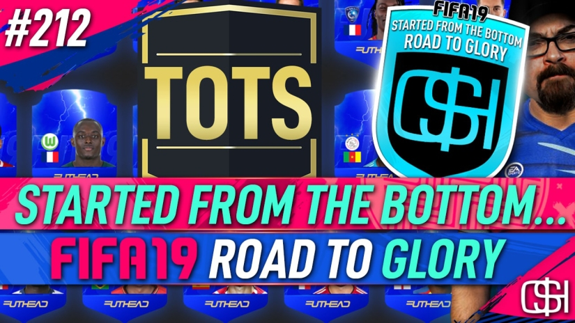 FIFA 19 ROAD TO GLORY FIFA 19 ULTIMATE TEAM QUICKSTOPHICKS FIFA 19 RTG EPISODE 212 EUSEBIO PRIME ICON TEAM OF THE SEASON