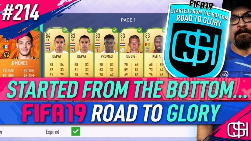 FIFA 19 ROAD TO GLORY FIFA 19 ULTIMATE TEAM QUICKSTOPHICKS FIFA 19 RTG EPISODE 214 WALKOUT HUGE PROFIT LIVERPOOL BARCELONA MARQUEE MATCHUPS
