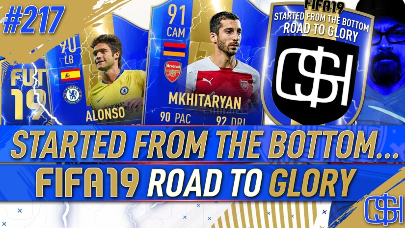 FIFA 19 ROAD TO GLORY FIFA 19 ULTIMATE TEAM QUICKSTOPHICKS FIFA 19 RTG EPISODE 217 TEAM OF THE SEASON 90 ALONSO 91 MKHITARYAN