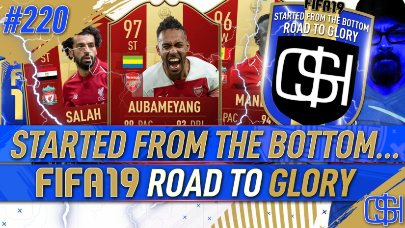 FIFA 19 ROAD TO GLORY FIFA 19 ULTIMATE TEAM QUICKSTOPHICKS FIFA 19 RTG EPISODE 220 GUARANTEED TOTS FUT CHAMPIONS REWARDS
