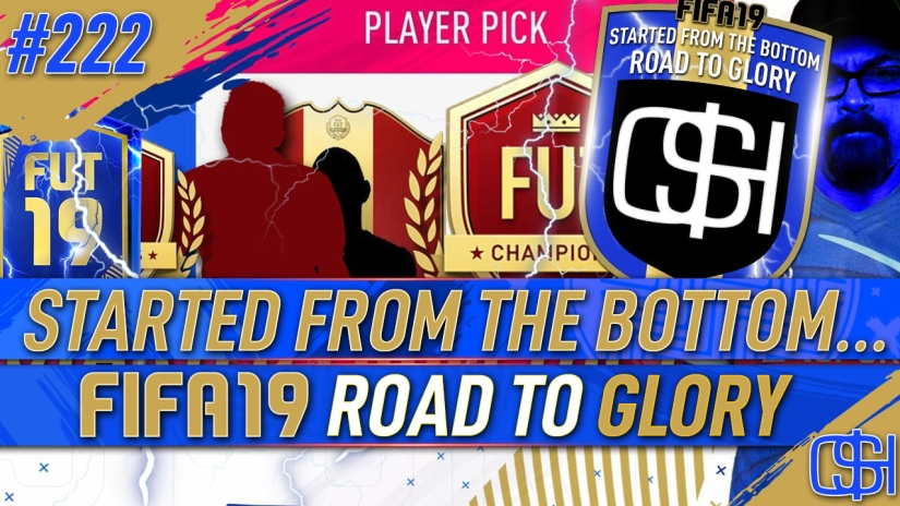 FIFA 19 ROAD TO GLORY FIFA 19 ULTIMATE TEAM QUICKSTOPHICKS FIFA 19 RTG EPISODE 222 GUARANTEED TOTS FUT CHAMPIONS REWARDS