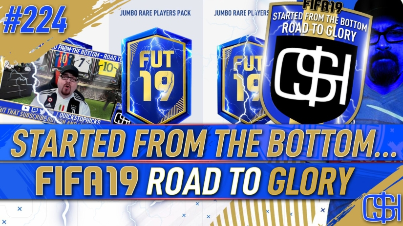 FIFA 19 ROAD TO GLORY FIFA 19 ULTIMATE TEAM QUICKSTOPHICKS FIFA 19 RTG EPISODE 224 PREMIER LEAGUE TEAM OF THE SEASON TOTS PACK OPENING