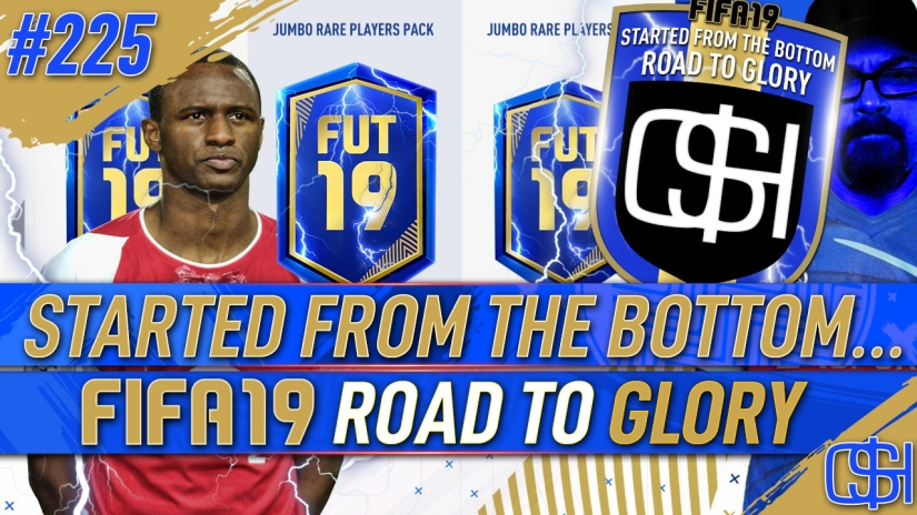 FIFA 19 ROAD TO GLORY FIFA 19 ULTIMATE TEAM QUICKSTOPHICKS FIFA 19 RTG EPISODE 225 PREMIER LEAGUE TEAM OF THE SEASON TOTS PACK OPENING