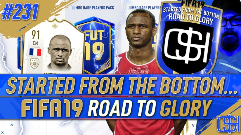 FIFA 19 ROAD TO GLORY FIFA 19 ULTIMATE TEAM QUICKSTOPHICKS FIFA 19 RTG EPISODE 231 PREMIER LEAGUE TEAM OF THE SEASON TOTS FUT CHAMPIONS REWARDS