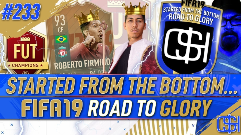 FIFA 19 ROAD TO GLORY FIFA 19 ULTIMATE TEAM QUICKSTOPHICKS FIFA 19 RTG EPISODE 233 FLASHBACK FIRMINO GREATEST FIFA CARD EVER