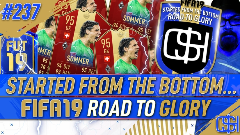 FIFA 19 ROAD TO GLORY FIFA 19 ULTIMATE TEAM QUICKSTOPHICKS FIFA 19 RTG EPISODE 237 BUNDESLIGA TEAM OF THE SEASON TOTS FUT CHAMPIONS REWARDS