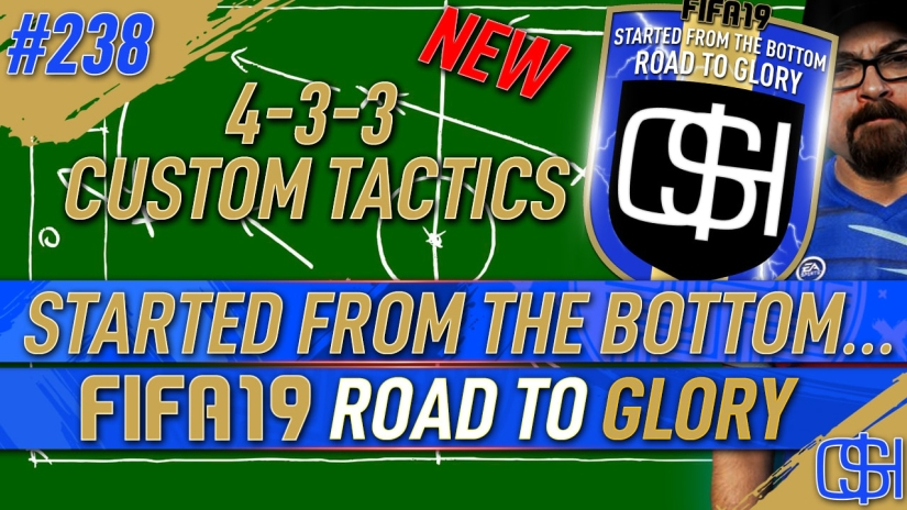 FIFA 19 ROAD TO GLORY FIFA 19 ULTIMATE TEAM QUICKSTOPHICKS FIFA 19 RTG EPISODE 238 4 3 3 CUSTOM TACTICS AND GAMEPLANS