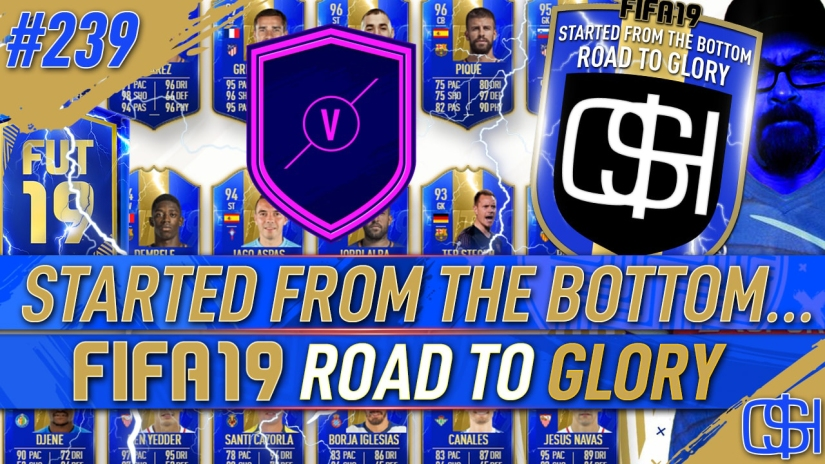 FIFA 19 ROAD TO GLORY FIFA 19 ULTIMATE TEAM QUICKSTOPHICKS FIFA 19 RTG EPISODE 239 LA LIGA TEAM OF THE SEASON TOTS FUT CHAMPIONS REWARDS