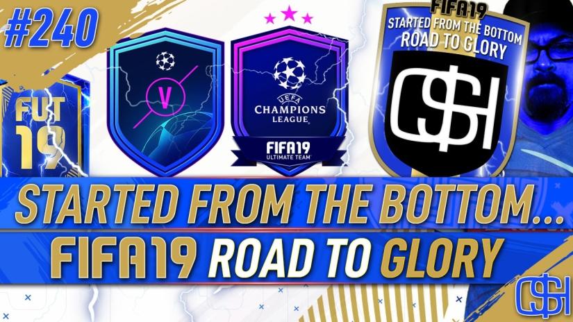 FIFA 19 ROAD TO GLORY FIFA 19 ULTIMATE TEAM QUICKSTOPHICKS FIFA 19 RTG EPISODE 240 UEFA MARQUEE MATCHUPS