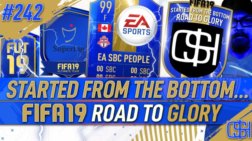 FIFA 19 ROAD TO GLORY FIFA 19 ULTIMATE TEAM QUICKSTOPHICKS FIFA 19 RTG EPISODE 242 SUPER LIG SBC NOT WORKING