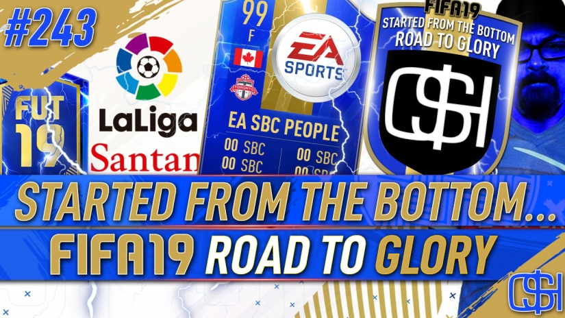 FIFA 19 ROAD TO GLORY FIFA 19 ULTIMATE TEAM QUICKSTOPHICKS FIFA 19 RTG EPISODE 243 EA MESS UP AGAIN