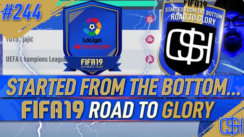 FIFA 19 ROAD TO GLORY FIFA 19 ULTIMATE TEAM QUICKSTOPHICKS FIFA 19 RTG EPISODE 244 GUARANTEED LA LIGA SBC