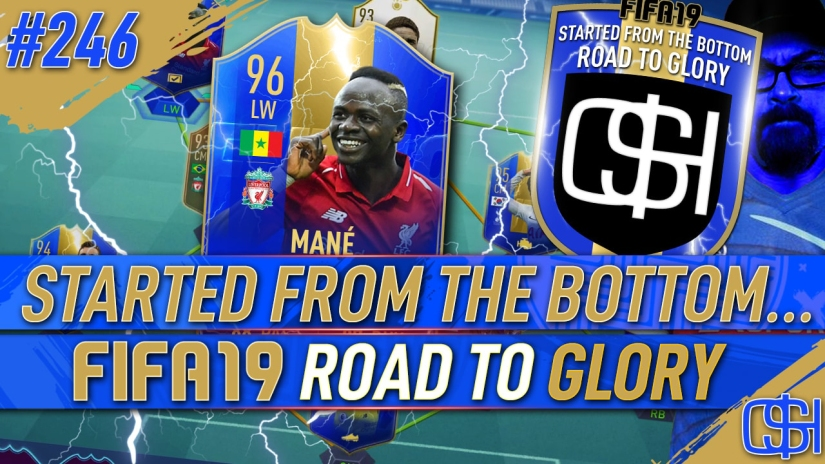 FIFA 19 ROAD TO GLORY FIFA 19 ULTIMATE TEAM QUICKSTOPHICKS FIFA 19 RTG EPISODE 246 TOTS MANE TOTY MODRIC TOTS DEMBELE