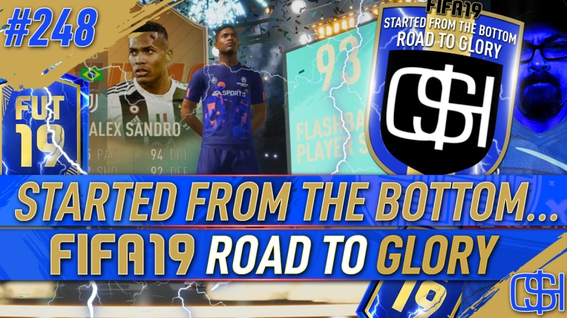 FIFA 19 ROAD TO GLORY FIFA 19 ULTIMATE TEAM QUICKSTOPHICKS FIFA 19 RTG EPISODE 248 FLASHBACK ALEX SANDRO FIFA 20