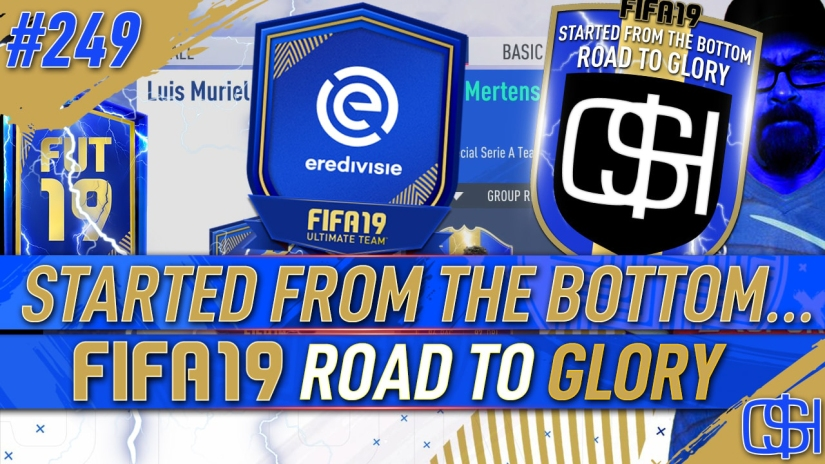 FIFA 19 ROAD TO GLORY FIFA 19 ULTIMATE TEAM QUICKSTOPHICKS FIFA 19 RTG EPISODE 249 EREDIVISIE TOTS SBC FIFA 20