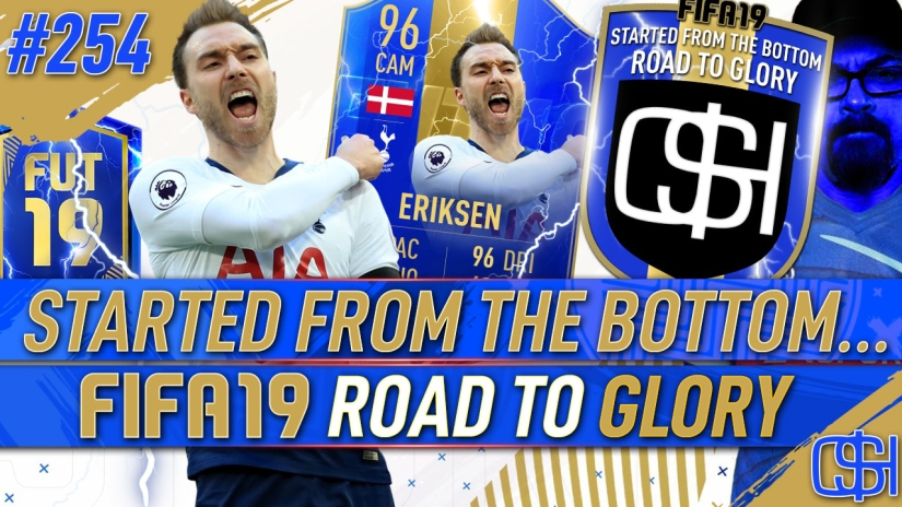 FIFA 19 ROAD TO GLORY FIFA 19 ULTIMATE TEAM QUICKSTOPHICKS FIFA 19 RTG EPISODE 254 TOTS ERIKSEN PLAYER REVIEW