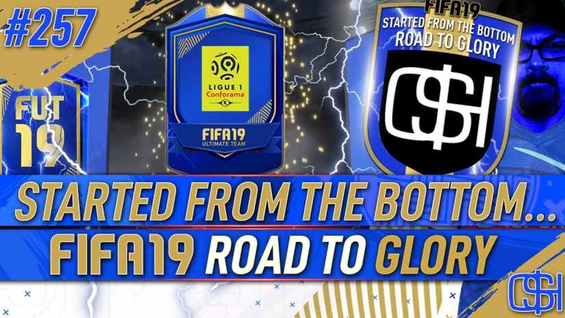 FIFA 19 ROAD TO GLORY FIFA 19 ULTIMATE TEAM QUICKSTOPHICKS FIFA 19 RTG EPISODE 257 GUARANTEED LIGUE ONE TOTS SBC