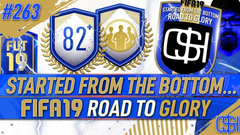 FIFA 19 ROAD TO GLORY FIFA 19 ULTIMATE TEAM QUICKSTOPHICKS FIFA 19 RTG EPISODE 263 FIFA 19 ULTIMATE TEAM OF THE SEASON FUT CHAMPIONS TOP 100 REWARDS FIFA 20 RTG
