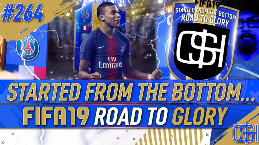 FIFA 19 ROAD TO GLORY FIFA 19 ULTIMATE TEAM QUICKSTOPHICKS FIFA 19 RTG EPISODE 264 FIFA 19 ULTIMATE TEAM OF THE SEASON WE PACK 96 TOTS MBAPPE ULTIMATE TOTS