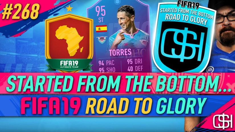 FIFA 19 ROAD TO GLORY FIFA 19 ULTIMATE TEAM QUICKSTOPHICKS FIFA 19 RTG EPISODE 268 END OF AN ERA TORRES AFRICAN SBC