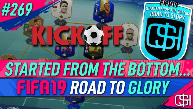 FIFA 19 ROAD TO GLORY FIFA 19 ULTIMATE TEAM QUICKSTOPHICKS FIFA 19 RTG EPISODE 269 KICK OFF GOALS