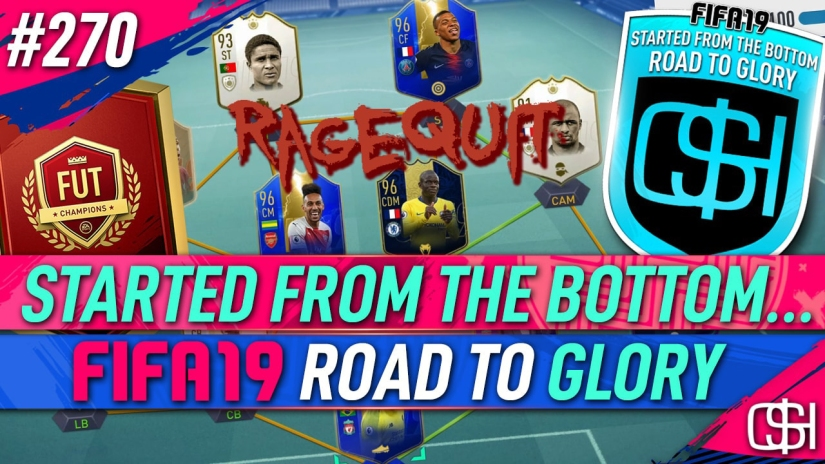 FIFA 19 ROAD TO GLORY FIFA 19 ULTIMATE TEAM QUICKSTOPHICKS FIFA 19 RTG EPISODE 270 ELITE TEAM OF THE SEASON PACK