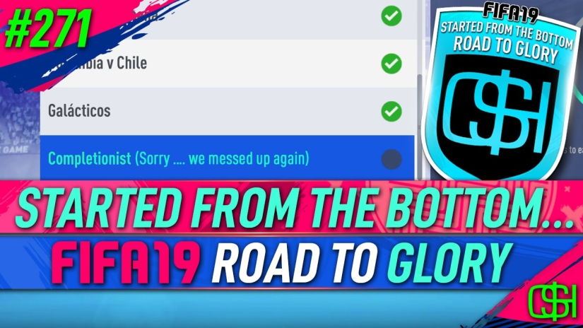 FIFA 19 ROAD TO GLORY FIFA 19 ULTIMATE TEAM QUICKSTOPHICKS FIFA 19 RTG EPISODE 271 EA MESS UP STUPID WEEKLY OBJECTIVES FIFA 20
