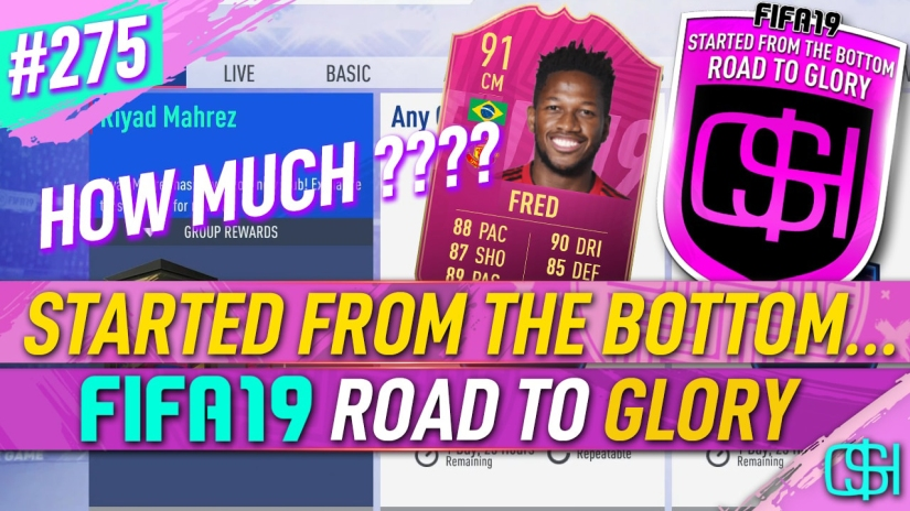 FIFA 19 ROAD TO GLORY FIFA 19 ULTIMATE TEAM QUICKSTOPHICKS FIFA 19 RTG EPISODE 275 FUTTIES ELITE 3 TOP 100 REWARDS FIFA 20 FRED