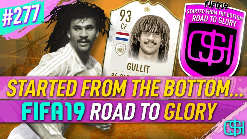 FIFA 19 ROAD TO GLORY FIFA 19 ULTIMATE TEAM QUICKSTOPHICKS FIFA 19 RTG EPISODE 277 PRIME MOMENTS GULLIT SBC FIFA 20 YOUTUBE